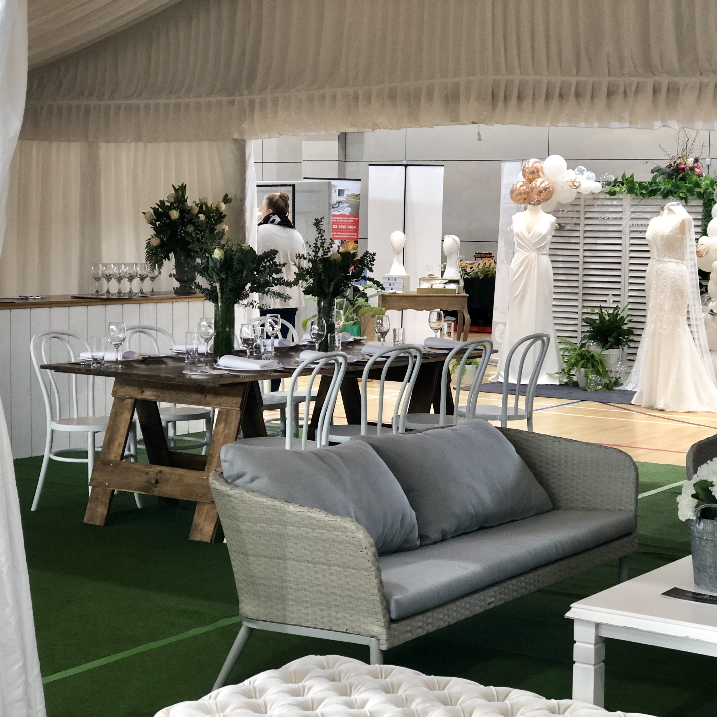 Warrnambool Bridal Expo - Grand Events Furniture Hire