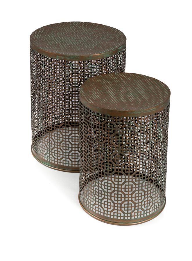 Iron Stool Set (pair)