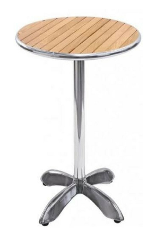 Cocktail Table (Timber Top) Tall