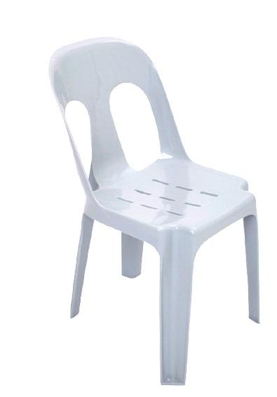 PVC Chair - White