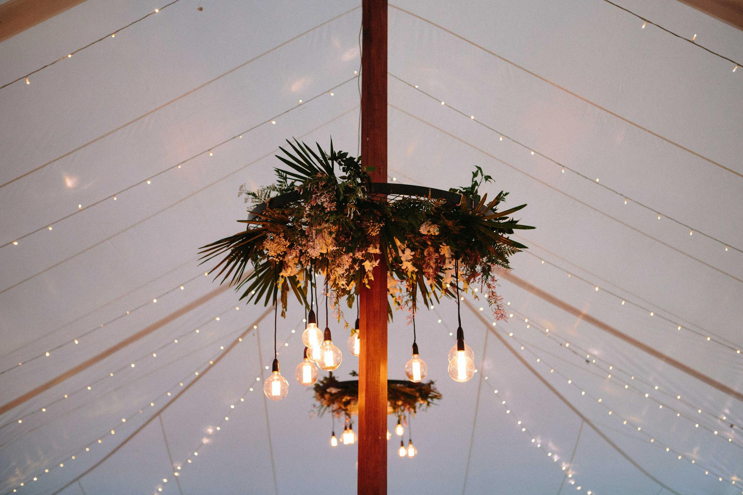 Fairy Lights / Edison Globe Installation