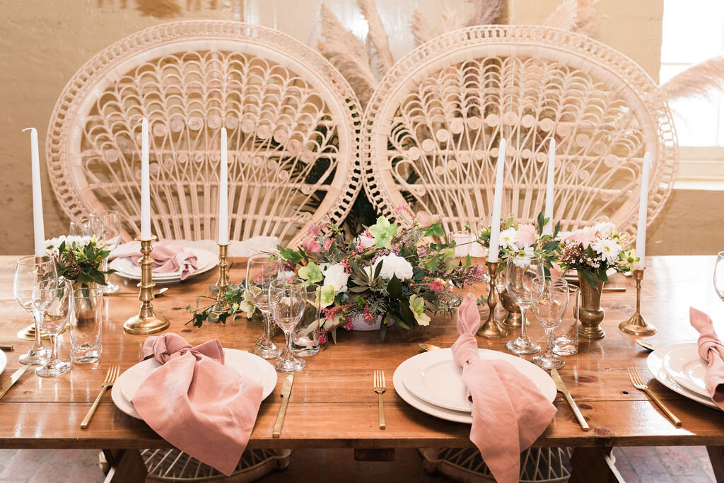 Boho wedding hire - Warrnambool Weddings