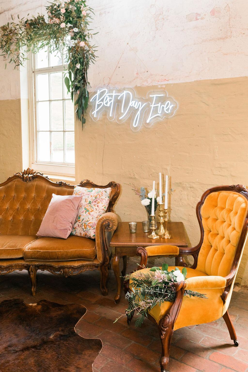 Hamilton Wedding Hire & Styling
