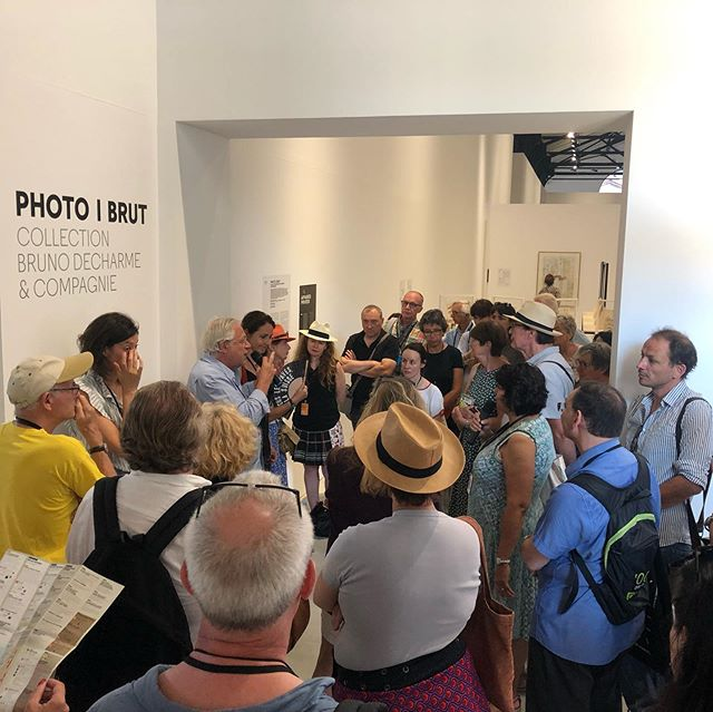Opening of the fantastic exhibition PHOTO|BRUT at Les Rencontres de la Photographie D'Arles, including photographs by Elisabeth Van Vyve #rencontresarles #rencontresdelaphotographie#rencontresarles2019