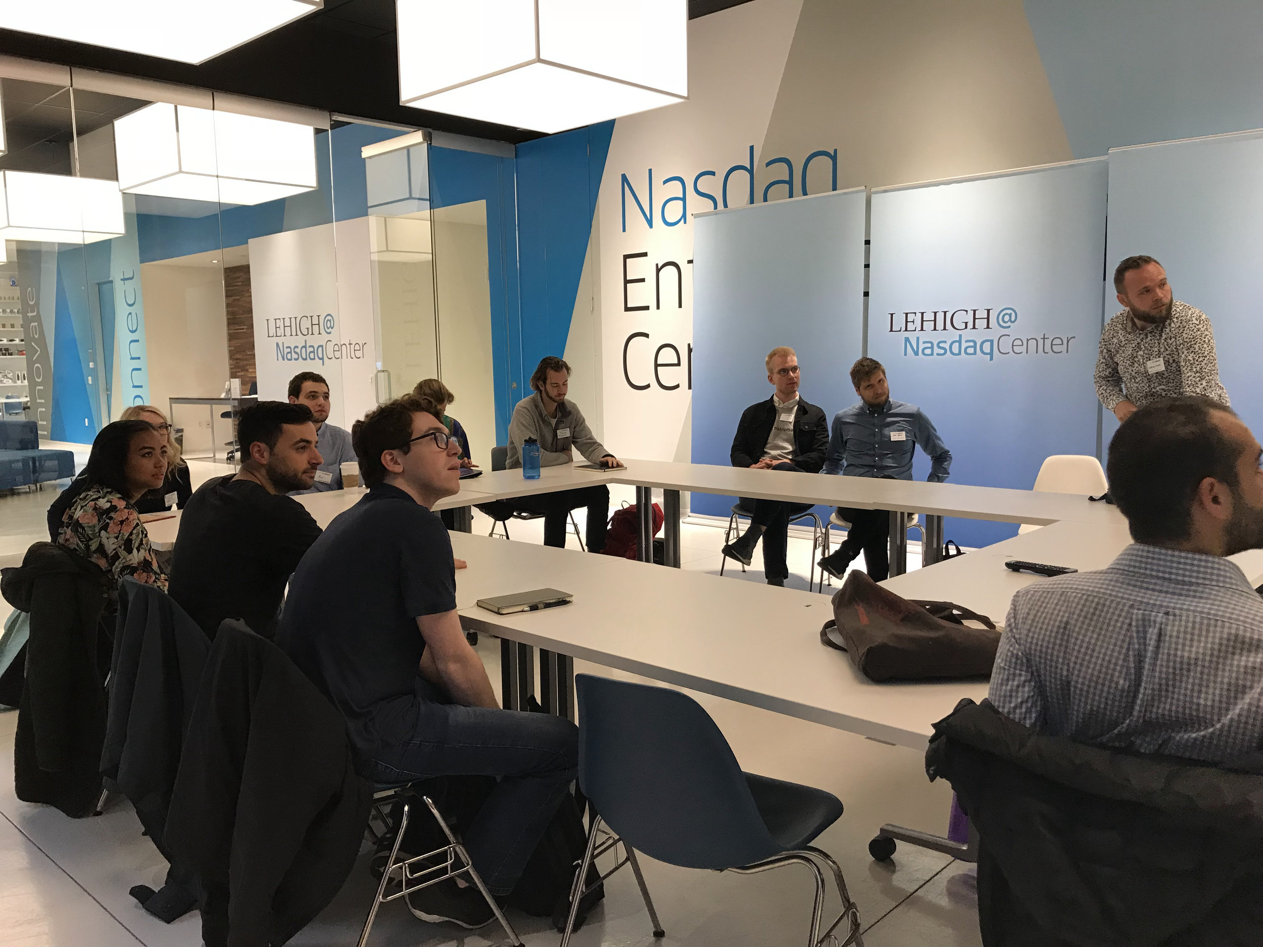 Day 2 - Nasdaq Entrepreneurial Center and EventbriteMilestones Makers Program; Industry Insights with Marty Ringlein, Mentor Meetings