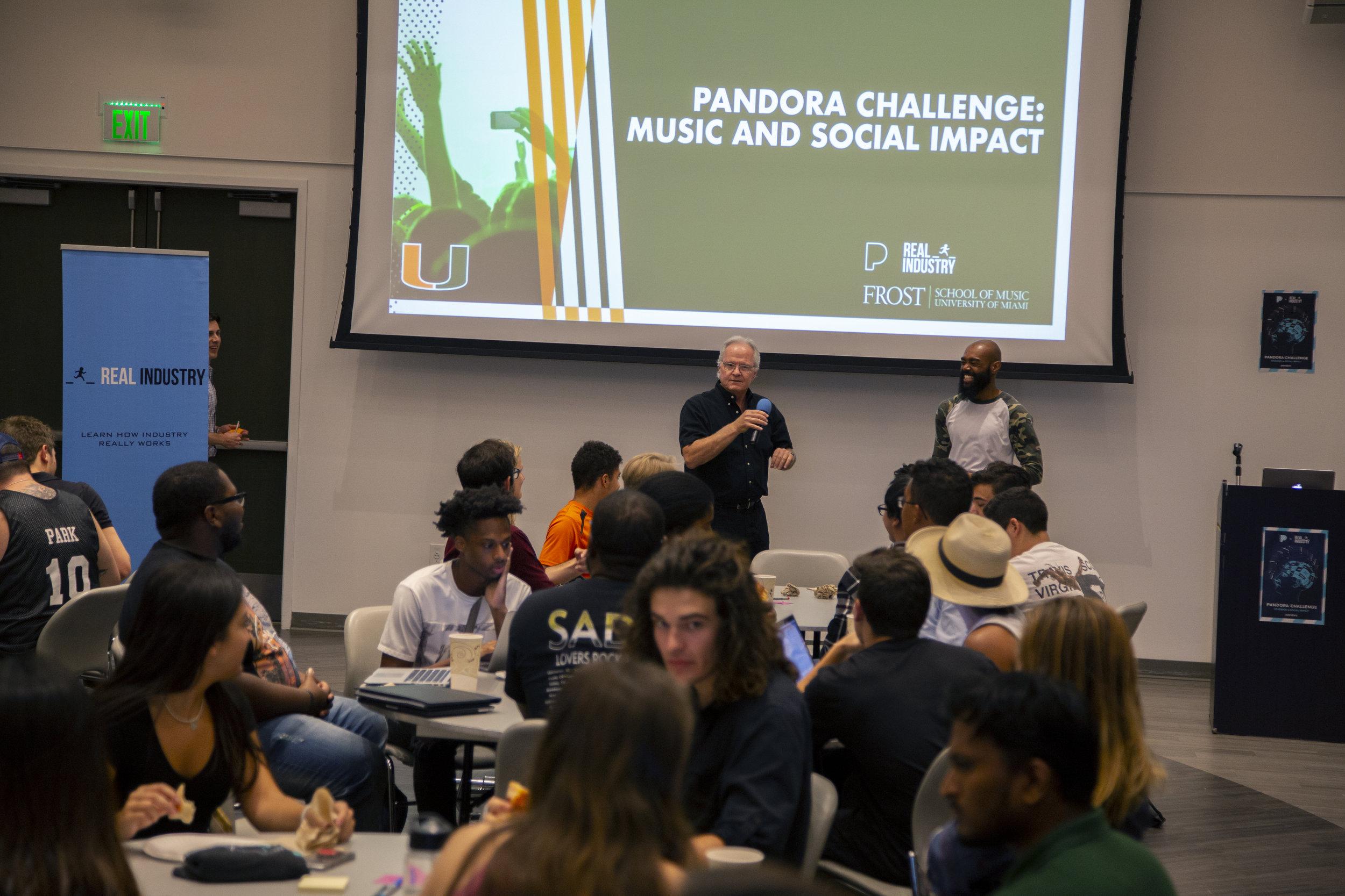 Pandora Challenge - 5 Programs - 5 Universities