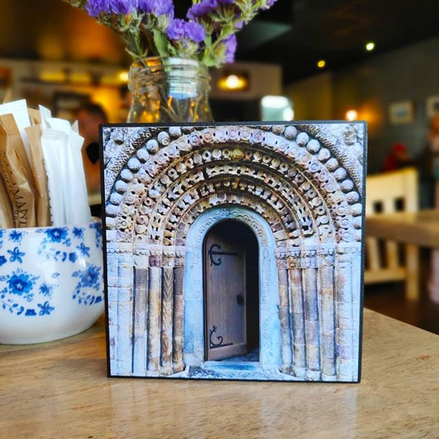 Delighted to have my handmade photo art blocks and gift cards available to buy at the gorgeous Homeplace Cafe in Headford - only a stone's throw from Ross Errilly, one of Ireland's most complete Franciscan Friaries. Coffee, art and ruins - what more could you ask for ✨ #galway #countygalway #irishhistory #buylocal #rosserrillyfriary #ruins #discovergalway #thisisgalway #irelandswildwest #loveconnacht #welovegalway