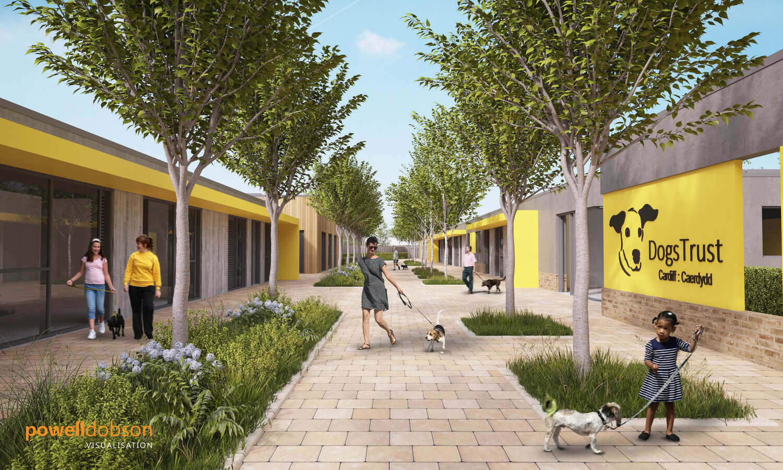 Dogs Trust, Cardiff - visualisation
