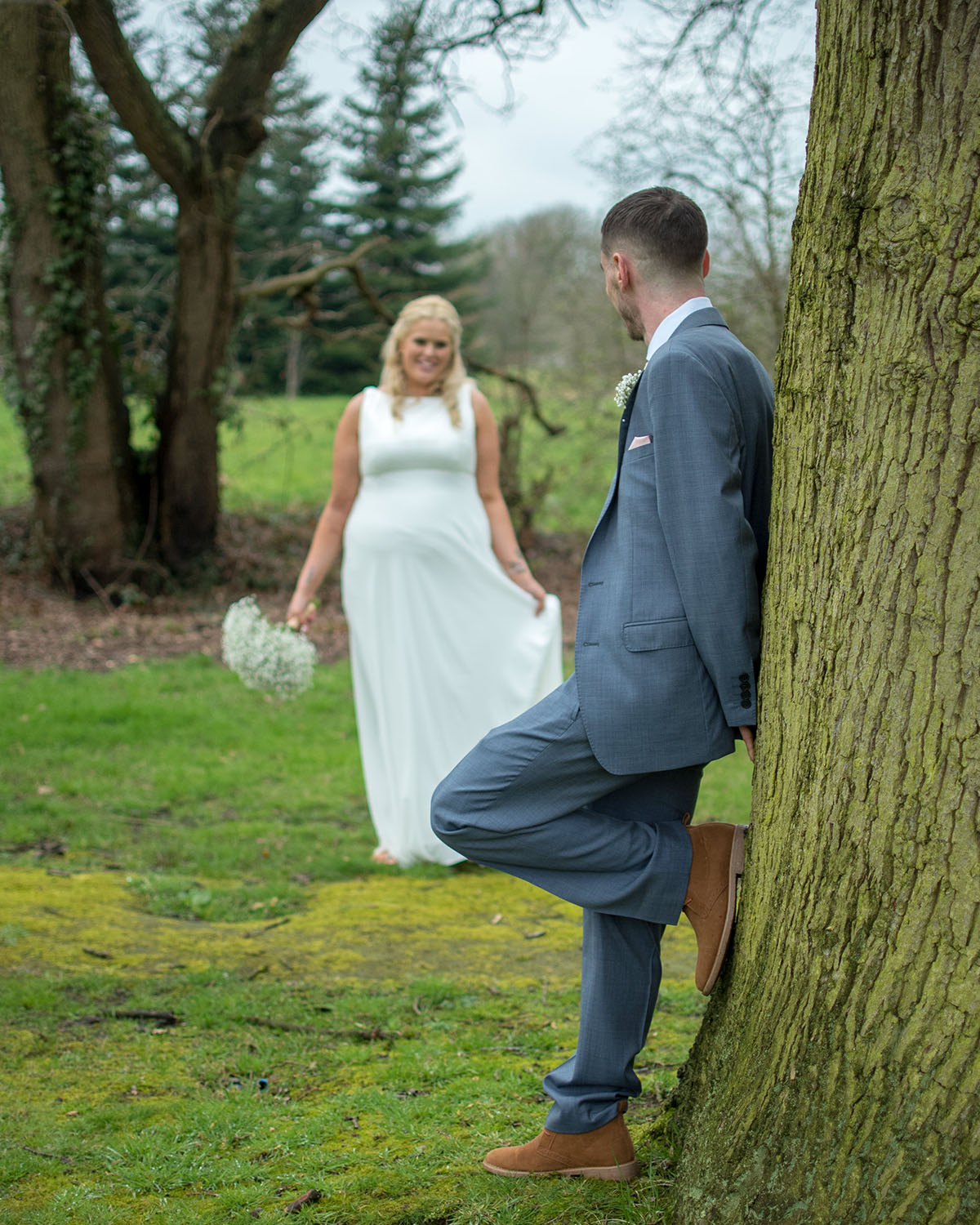 NATALIE & LUKE - APRIL, 2018| WEDDINGS  Dave was absolutely amazing on our wedding day. Considering we only met him on the morning of our wedding due to unforeseen circumstances he was perfect we couldn't of asked for anything more. He made us feel very comfortable and did exactly what we wanted him to do. We received our photos today and every single one of them is perfect. Thanks for saving the day and doing what you did.