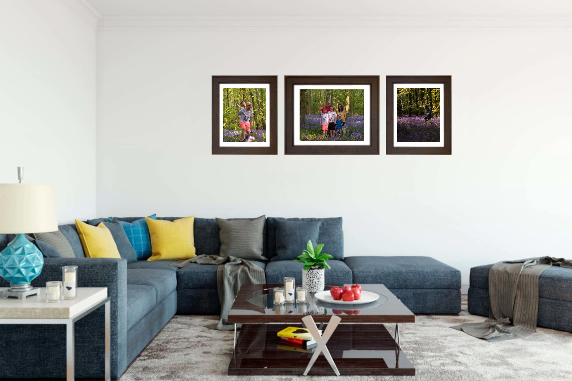 We love displaying stunning wall art - framed prints on your walls | Nottingham family photography