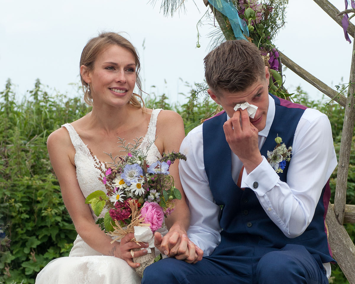 We love witnessing and capturing the emotions of a wedding day, this one was in Cornwall