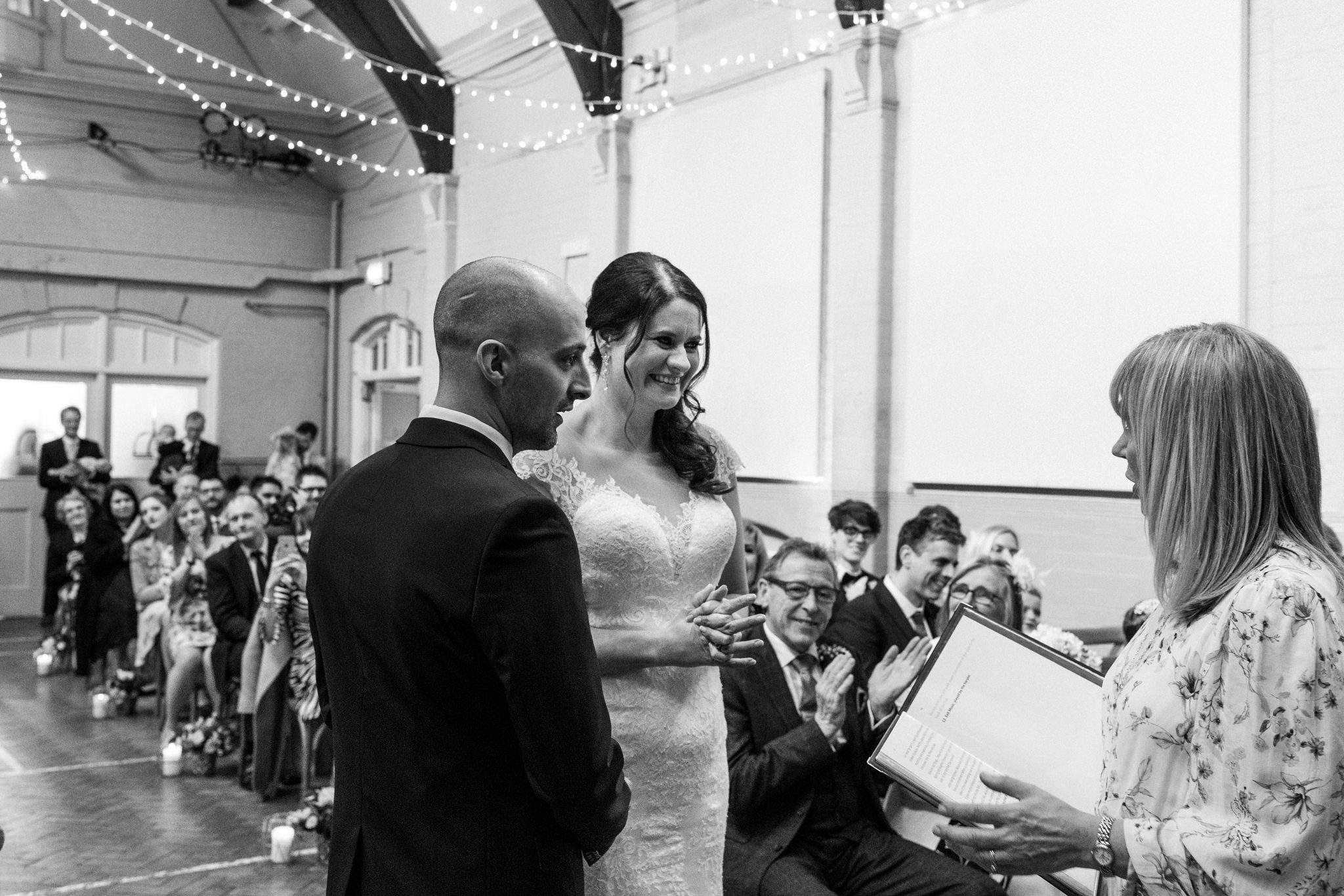 Susan conducting a lovely ceremony -  photographed by the amazing    Chris Seddon Photography