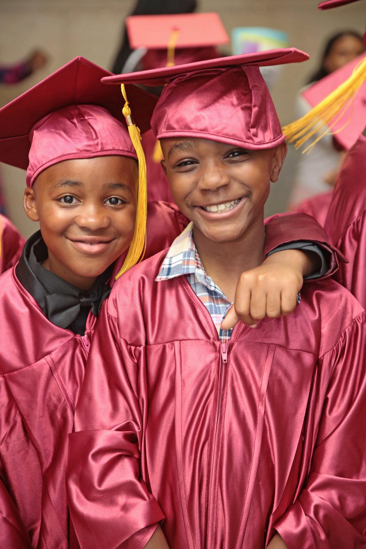 Two 5th Grade Graduates, Class of 2017
