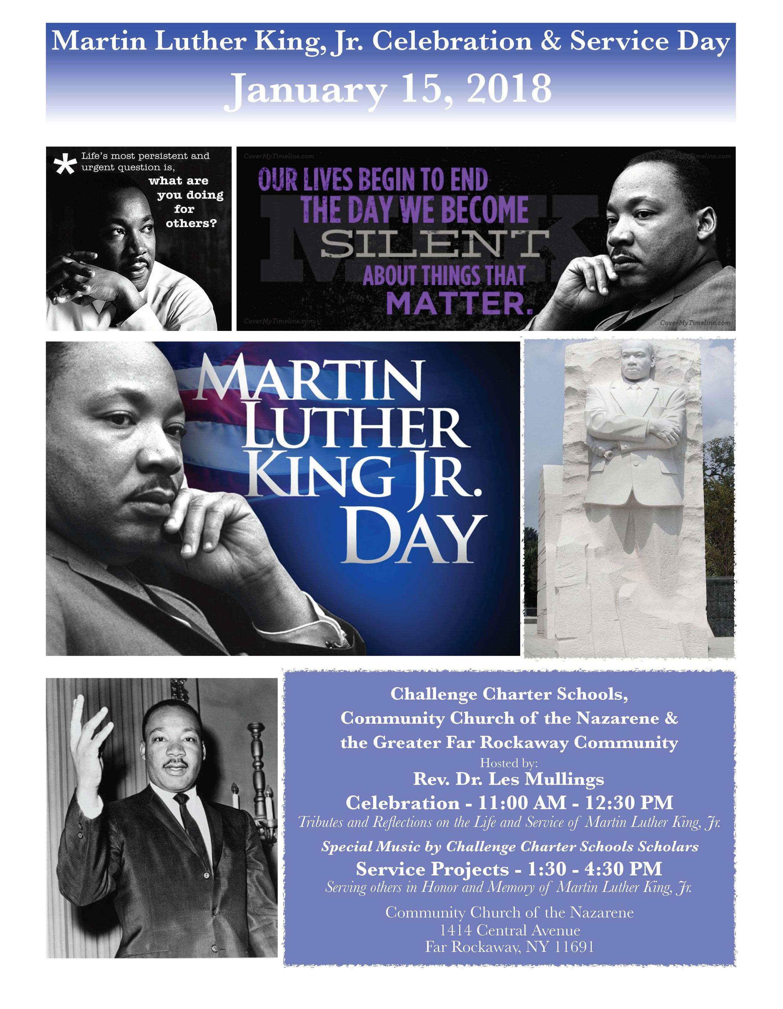 MLK Jr. Day Flyer