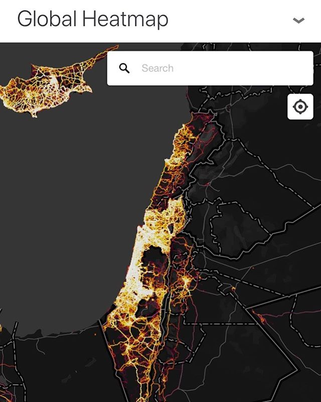 Wondering about Cycling in Israel? Strava heatmap shows just how much riding is possible here! #rideisrael #giroditalia #travel #cyclingtrip #comewithus #giroditalia2018 #tripplanning #israeltravel #cyclingholidays #stravaheatmap #cyclinglife #travelbybike