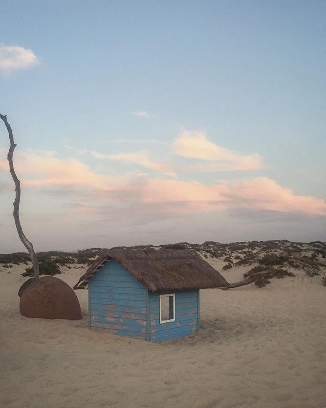 Shack on the beach, would suit a simple soul who enjoys being at one with nature and solitude, ocean views and great fish restaurant nearby. When can I move in?!