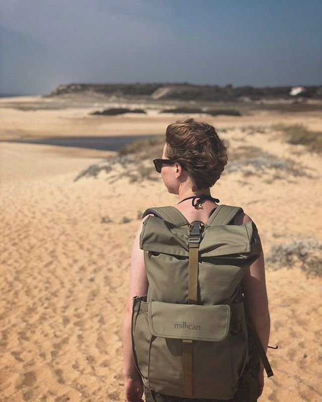 Exploring the Alentejo's wild West coast with @homeofmillican Smith the Roll Pack