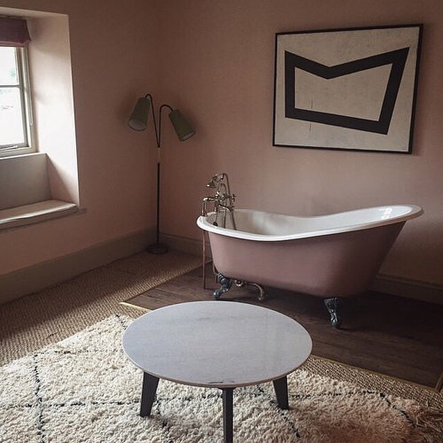 Mornings like this call for lazy lay in's and long, warm baths 🛀🏻 This is just the place! @lord_poulett You can catch the write up in the archives at lostweekends.net