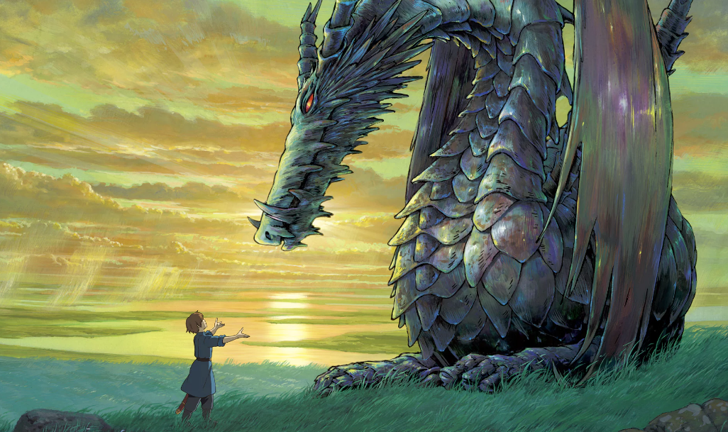 Wizard of Earthsea, still from animation.