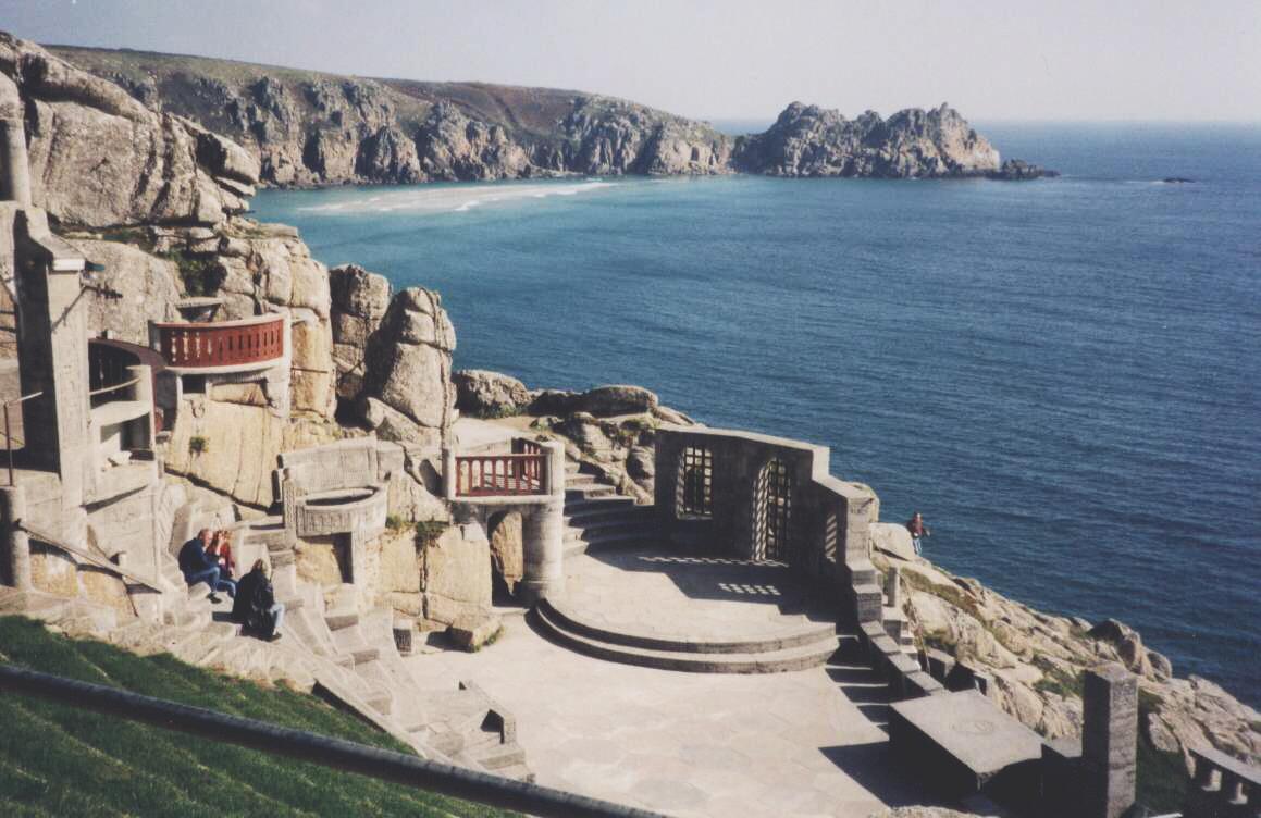(CC) via Wikipedia, Minack Theatre, Cornwall