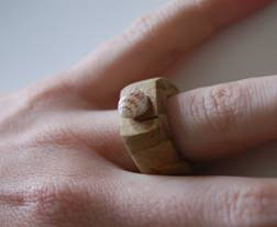 Engagement ring, I made by hand. (C)