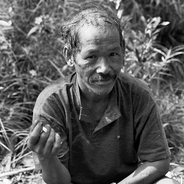 1990s #Indonesia rainforest Guide. This is from my travels to a remote part of the Indonesian #jungle to visit the hunter-gather tribe the Wana.  This was shot on black and white film in the pre-digital age.  Lugging cameras in the rainforest not fun.  https://www.thendobetter.com/blog/2019/8/1/wana-tribe-visit  #travel #travelphotography #35mm #film  #composition #focus #capture  #photography  #photo #travelgram  #bwphotography #bwphoto #photography  #bnw #streetphotography
