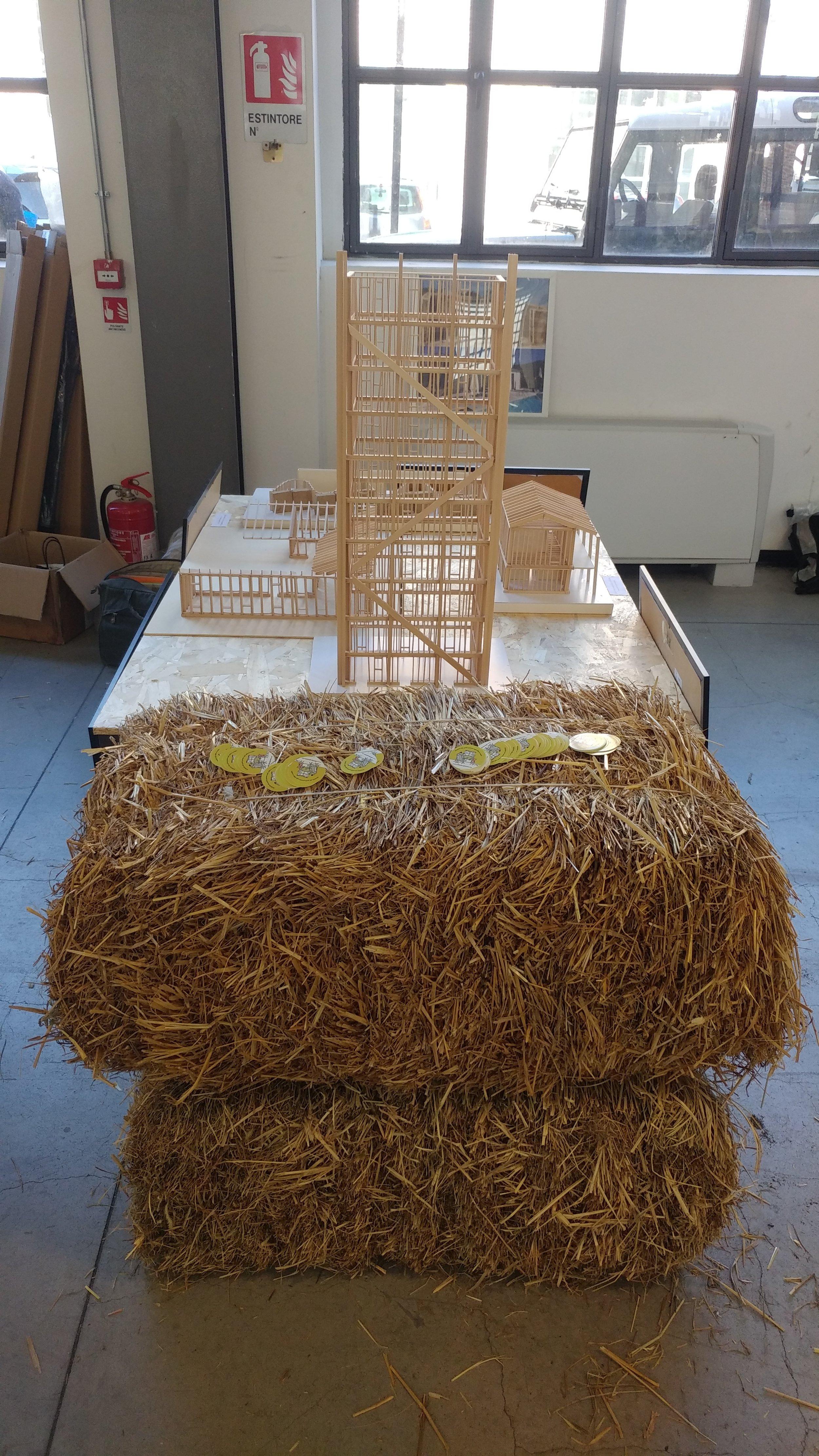 Balle di paglia: la materia prima per costruire gli edifici sostenibili del futuro