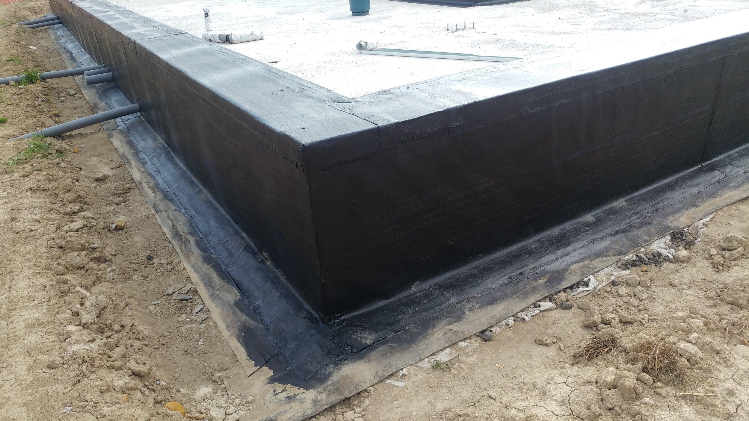 Impermeabilizzazione dei cordoli in cemento armato