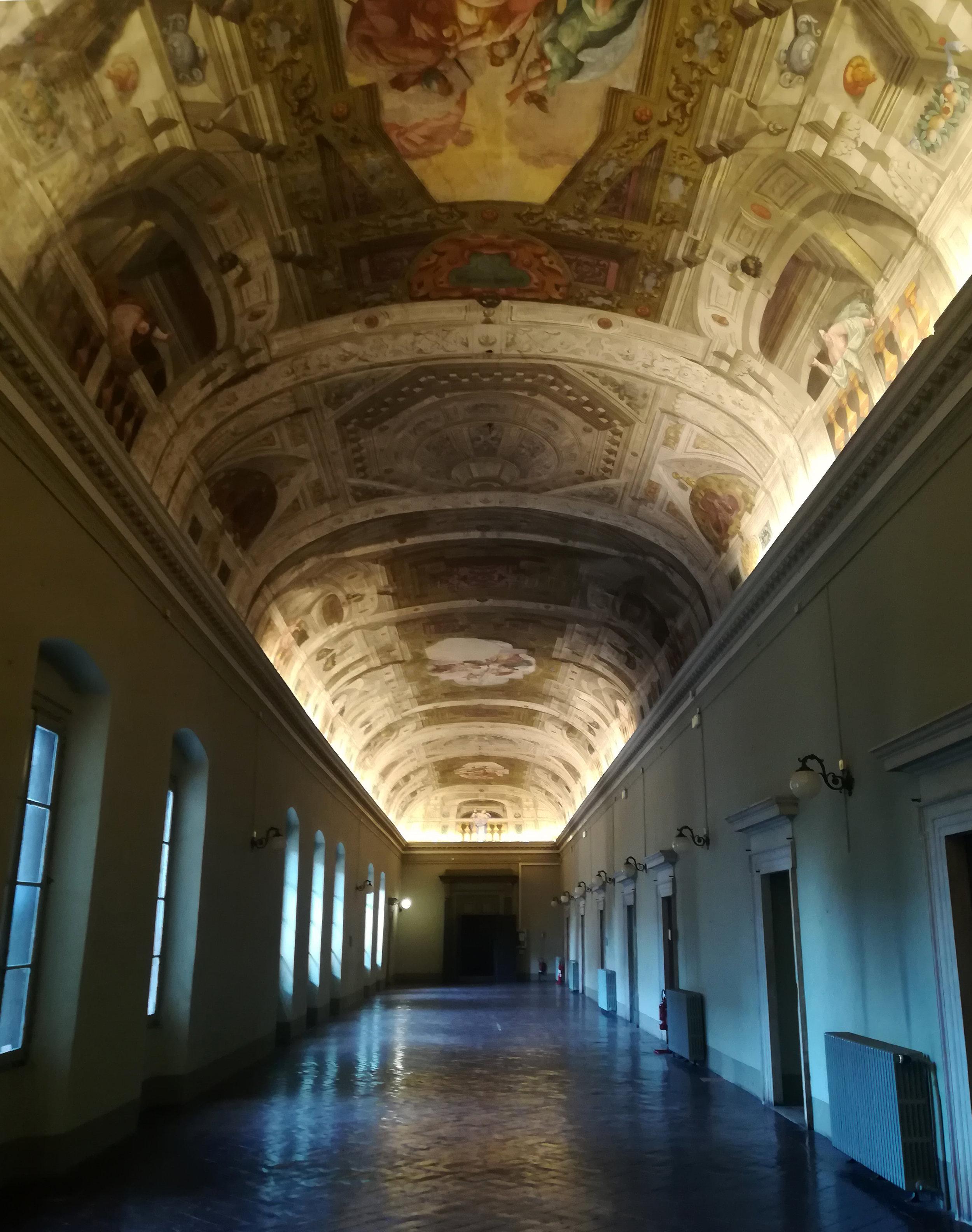Il salone della sede dell'Ordine degli Architetti di Brescia
