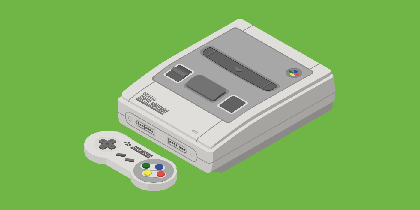 Super Nintendo Entertainment System/Super Famicom (JPN 1990 – EU/AU 1992)