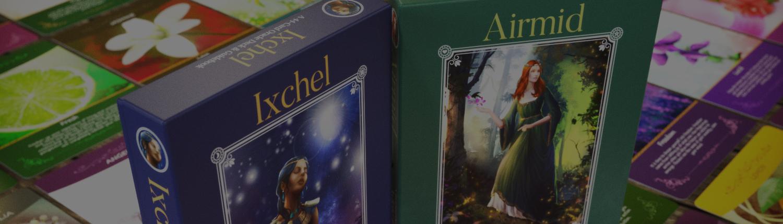 Oracle Cards & Guidebook - Packaging & Book design