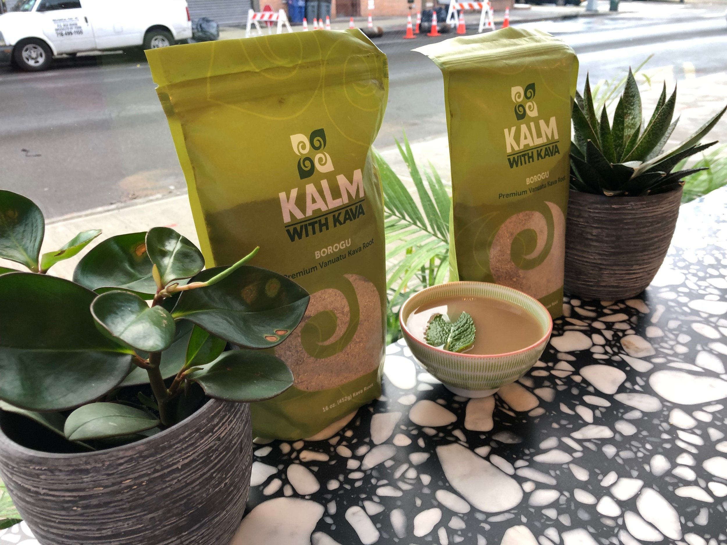 What is KAVA? - Kava is a small shrub native to the South Pacific islands. The root and stems are made into a non-alcoholic beverage good for psychological and physiological relaxation. Islanders have used the kava kava plant for centuries in social rituals, religious ceremonies and for medicinal purposes. We invite you to relax and converse with us over a bowl (or two!) of kava. Bula!