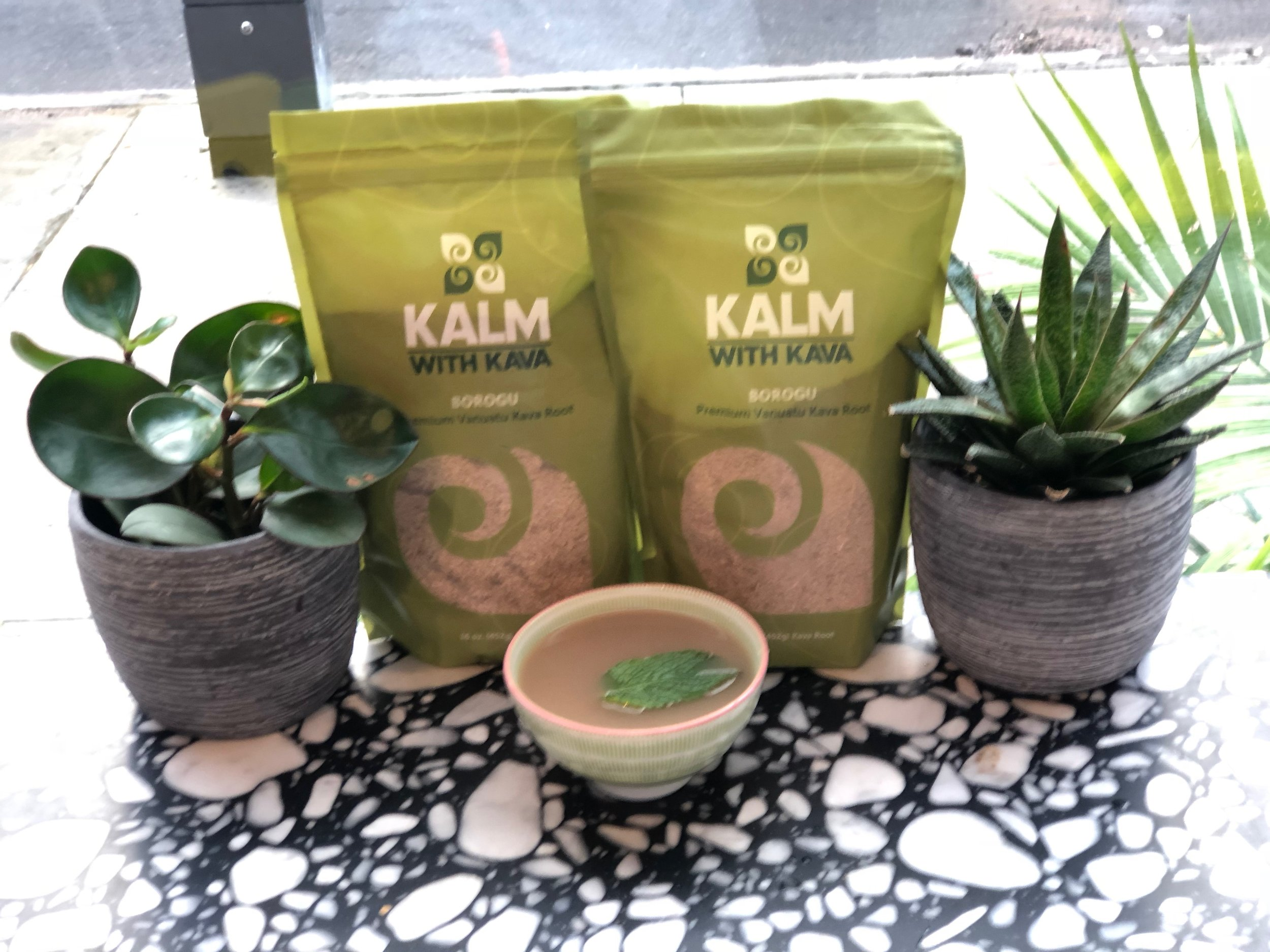 KAVA HOT & COLD - Kava Starter PackageIncludes a Kava Shot, 2 Kava Bowls, 2 Kava CocktailsKAVA COCKTAILSKava Lakou DelightKava, Pineapple Juice, Ginger, Lime & Simple SyrupKava MojitoKava, Mint, Lime & Simple SyrupKava RefresherKava, Ginger, Lime & Simple SyrupHOT KAVA COCKTAILSKava Golde Kava, Turmeric & Nut Milk of Your ChoiceKava ChaiKava, Chai & Nut Milk of Your ChoiceKava MochaKava, Cocoa & Nut Milk of Your ChoiceTRADITIONAL KAVAKava Shot2 oz of concentrated KavaKava Bowls8 oz of Traditionally Prepared Kava