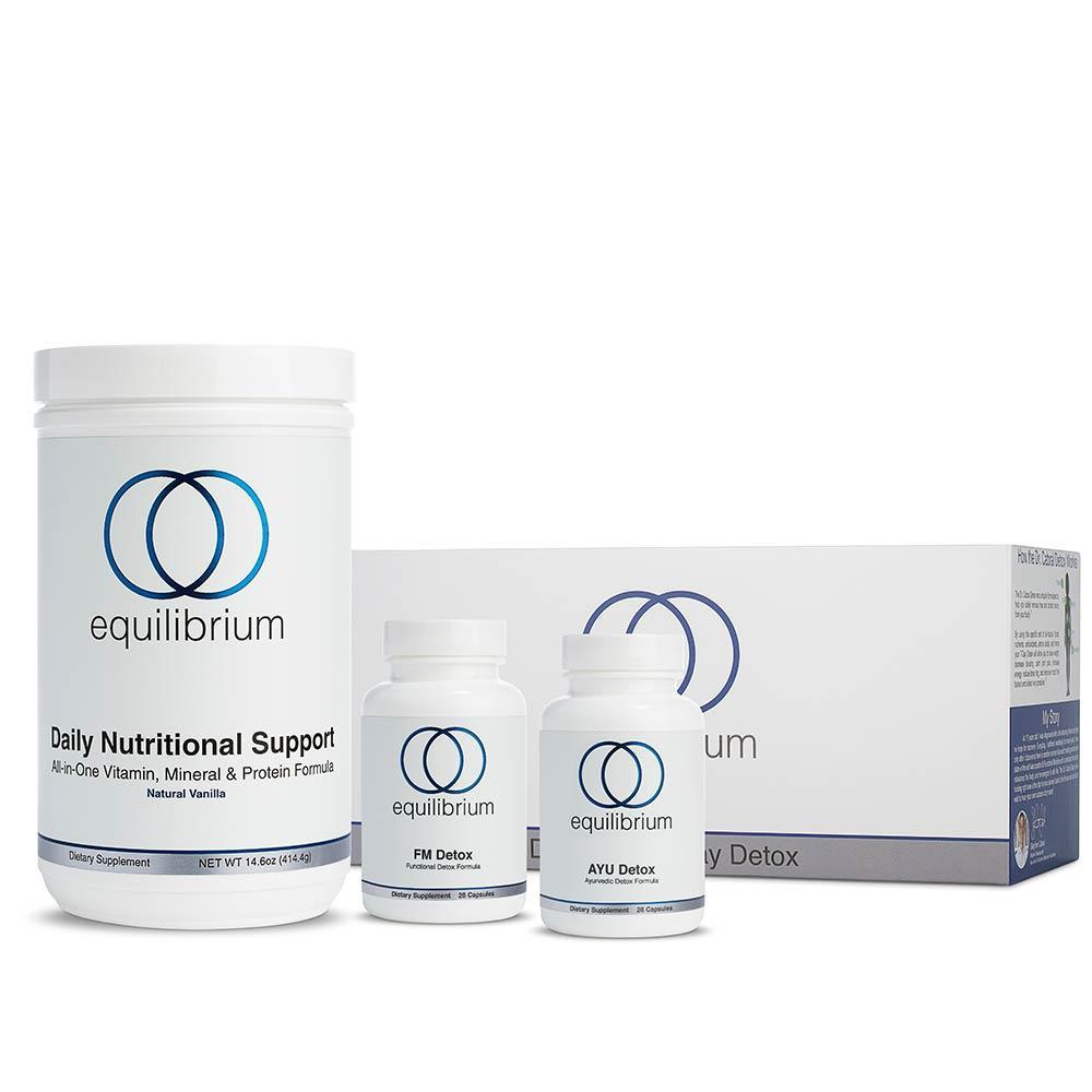 Equilibrium Nutrition Detox - Supplements + Nutritional Support Shake