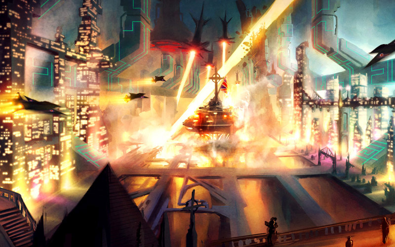 Concept Design - A collection of artwork I have created for the Film, TV and Animation industry.