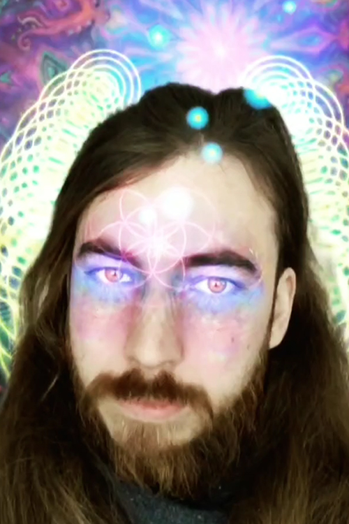 My Augmented Reality face filter   Awakening