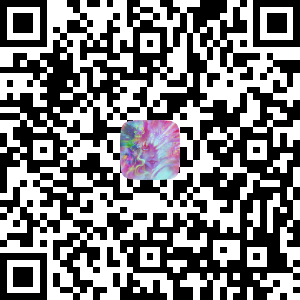 Scan this QR code with your smartphone camera and it will display a link to open the Augmented Reality effect. Alternatively you can visit this link:   http://bit.ly/arbookcover     (Facebook App is required to use the effect)
