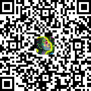Scan this QR code with your smartphone camera and it will display a link to open the Augmented Reality effect. Alternatively you can visit this link:   http://bit.ly/jungeAR