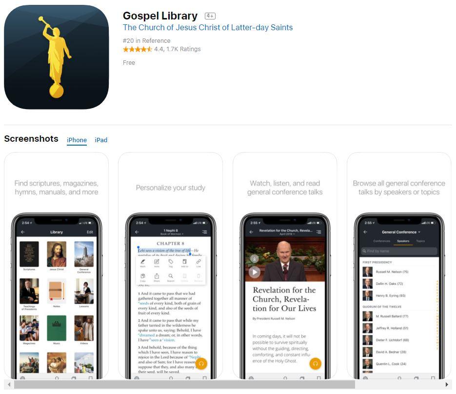 Gospel Library App