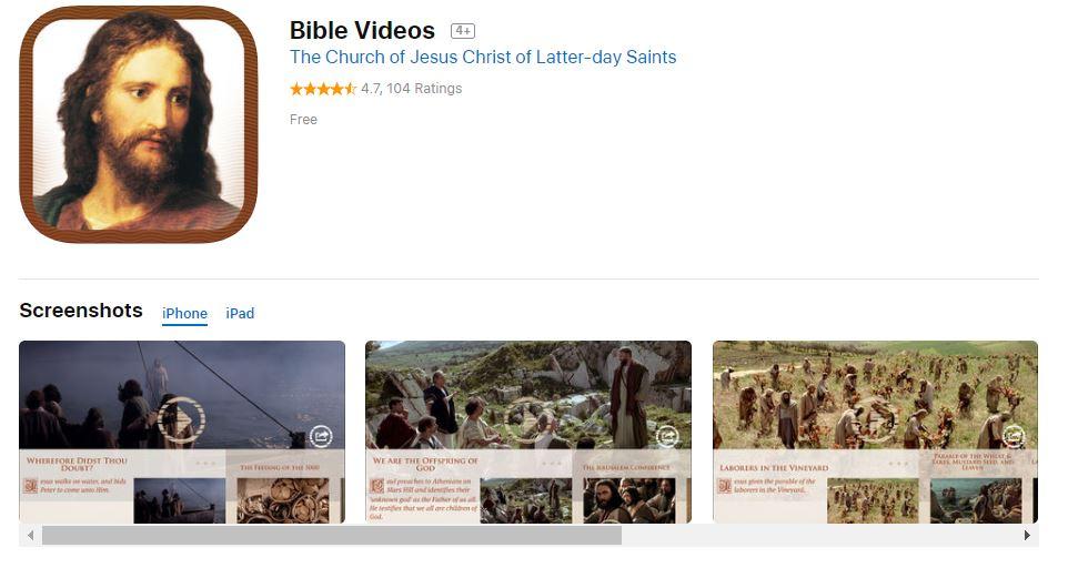 Bible Videos App