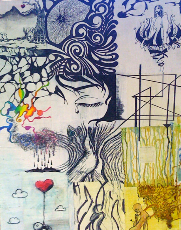 Organizing Perception – the Four Modes    Traumatic events are stored as fragmented images, body sensations, emotions, and negative core beliefs.    All of this fragmentation is scattered within the unconscious brain, ready to trigger a body reaction of 'fight, flight, or freeze' when confronted with unacknowledged or unresolved trauma. The Cross Modal Arts Strategies give a visual 'form' to the chaos and connects these images to a timeline or context of meaning.