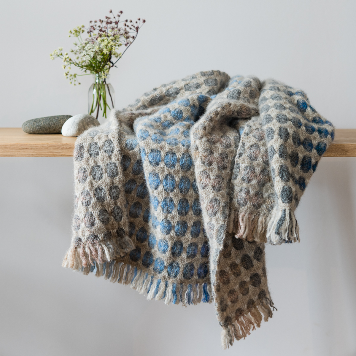 'Ord' hand woven throw