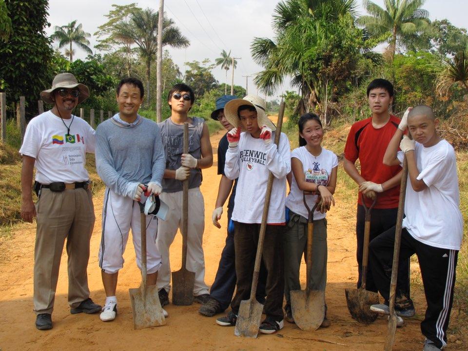 2010년 브라질 페루 선교사역 (김선아 집사님 제공)