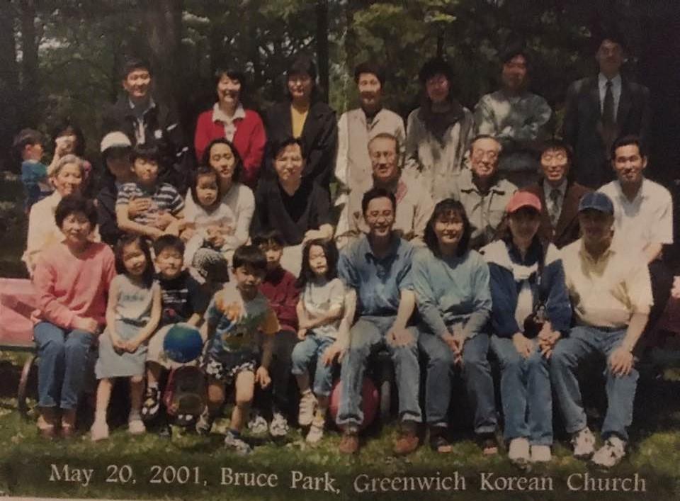 야외 예배 5/20/2001 (김선아 집사님 제공)