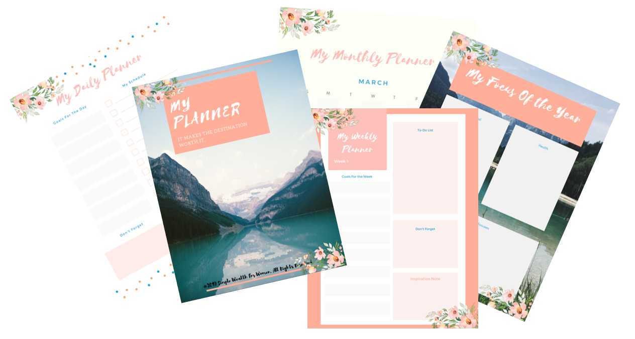 400+ Free Personal Planner To Get You Pumped Up Every Day