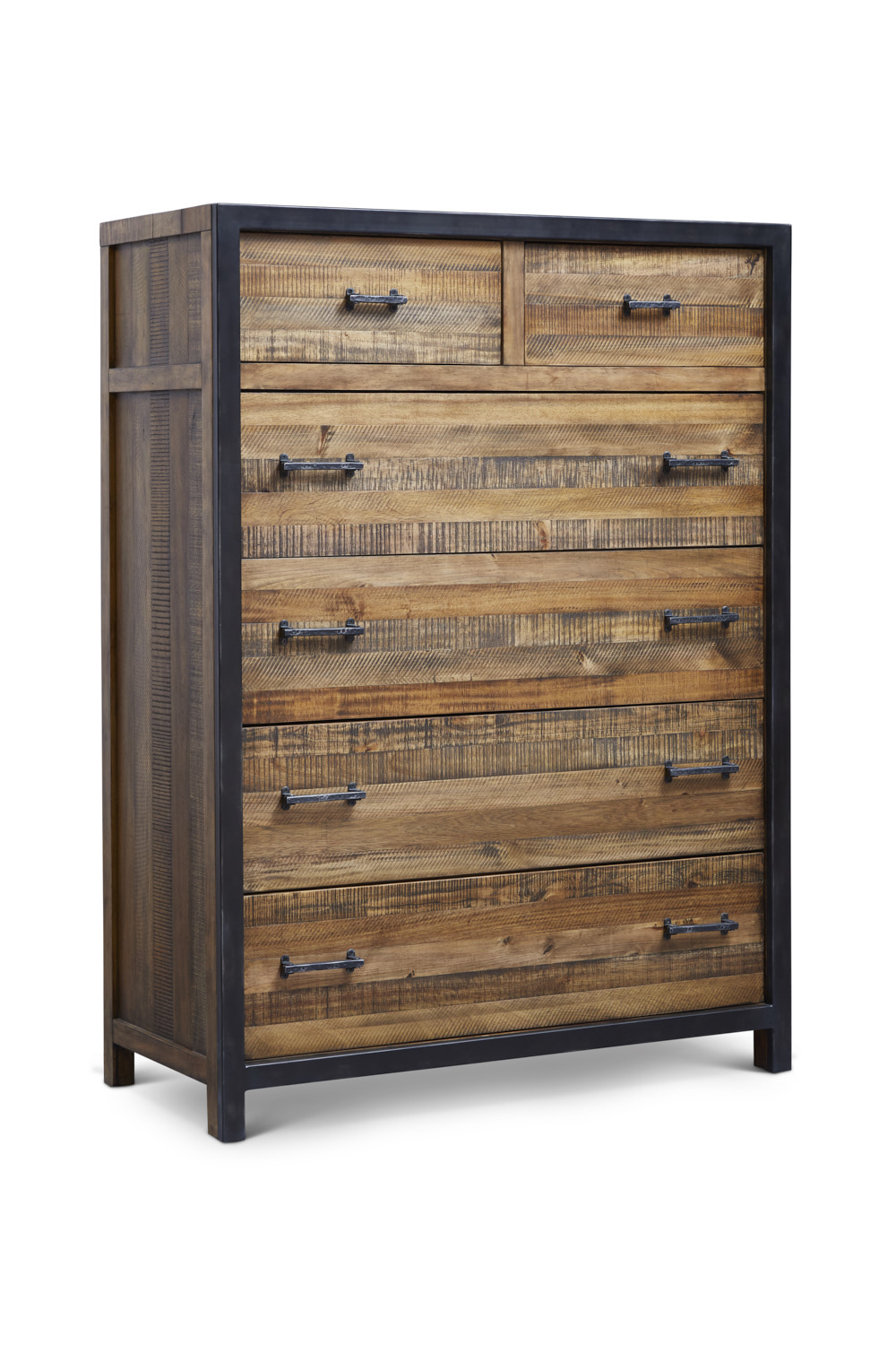 "Urban Frontier 6 Drawer Chest  Item # DI-188107 Dimensions: 42""W x 19""D x 56.75""H"