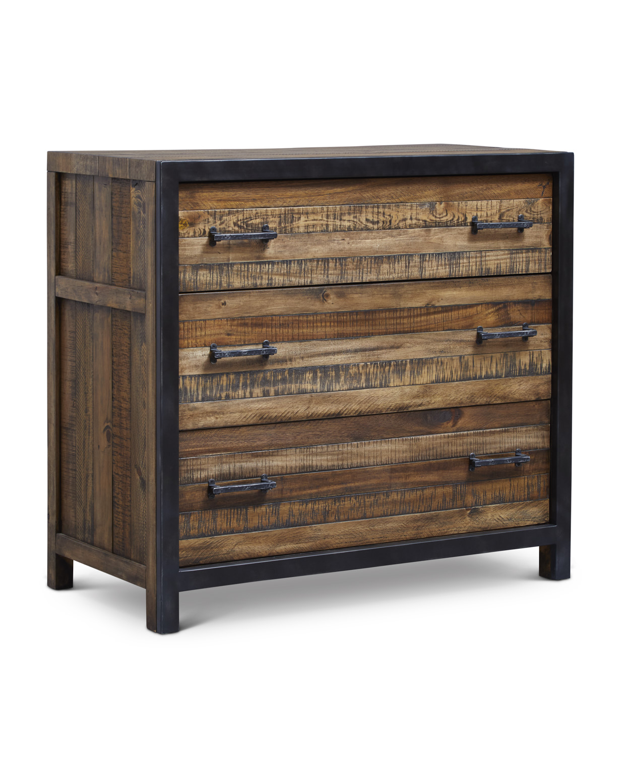 "Urban Frontier 3 Drawer Bachelor Chest  Item # DI-188108 Dimensions: 38""W x 19""D x 34.75""H"