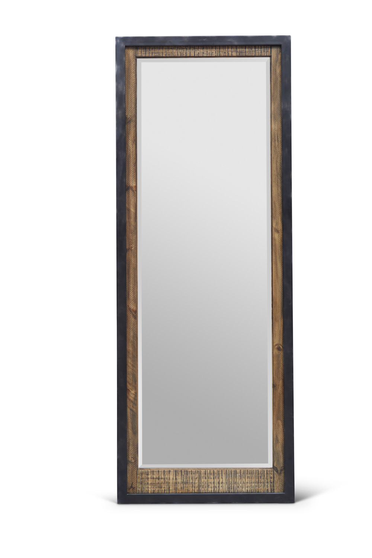 "Urban Frontier Floor Mirror  Item # DI-188109 Dimensions: 28""W x 1.75""D x 74""H"