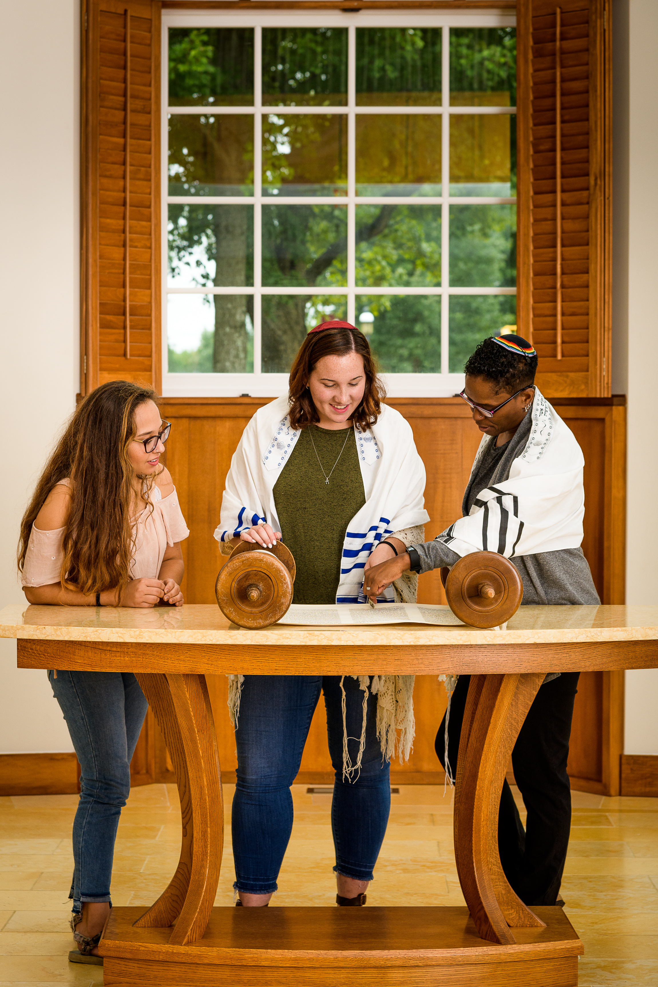 Teaching Torah as a campus Rabbi