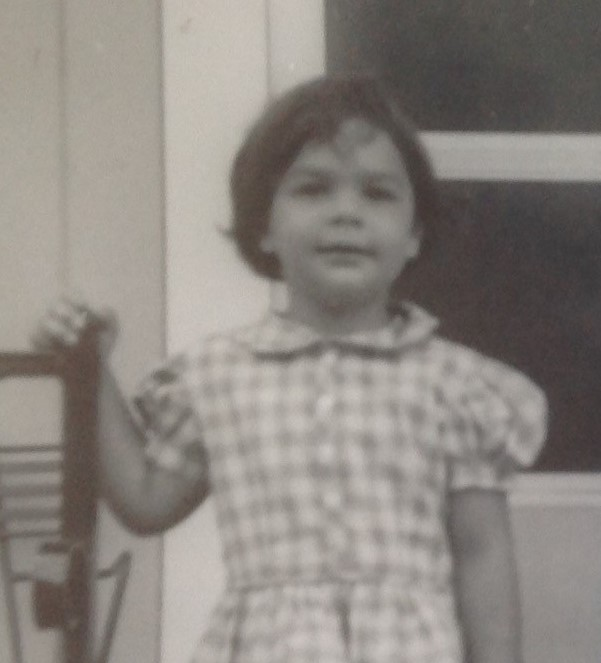 Here I am, a cute little three-year-old.